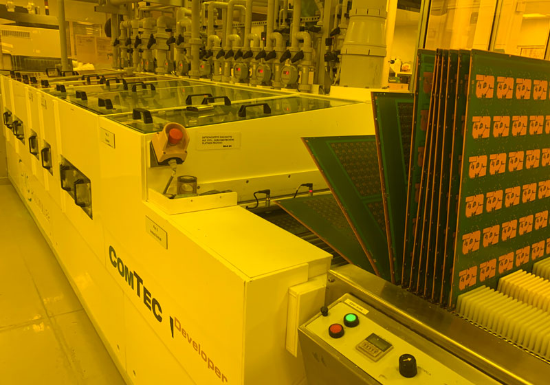 Circuit Board production Germany - more impressions
